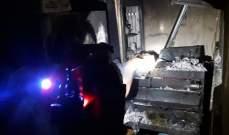 الدفاع المدني: حريق داخل فرن للمعجنات في الفوار - صيدا