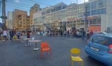النشرة: أصحاب المحال التجارية بصيدا قطعوا شارع رياض الصلح احتجاجا على انقطاع الكهرباء