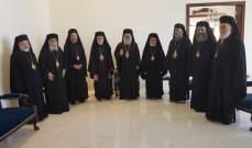 لقاء تضامني بمطرانية بيروت للروم الارثوذكس: لمعالجة الاسباب التي أدت إلى الكارثة المأساوية
