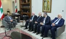 عباس برسالة للرئيس عون: سنبذل كل ما بوسعنا من أجل التوصل للسلام