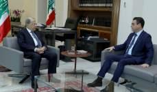 صحناوي وضع الرئيس عون باجواء ما حصل في منطقة الاشرفية