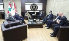 قائد الجيش بحث مع وزير داخلية ألبانيا بالأوضاع العامة في لبنان والمنطقة