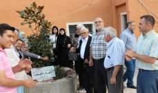 احتفال مصالحة في الشقيف بين رامي عليق وعدد من شبان البلدة