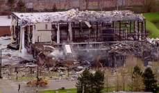 إصابة 4 أشخاص بانفجار قوي في مصنع للسيليكون في ولاية ايلينوي الأميركية