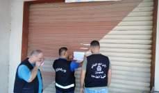 النشرة: اقفال فرن يديره أشخاص من التابعية السورية في المصيلح بالشمع الاحمر