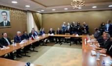 المشرفيه التقى 4 وزراء سوريين ومبعوث بوتين: لا مبرر لبقاء أي نازح خارج وطنه وأرضه