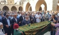 تشييع النائب السابق أحمد كرامي بمأتم حاشد في طرابلس