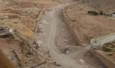 فريق من وزارة الاشغال جال على بلدات في البقاع الشمالي واطلع اضرار السيل