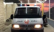 الدفاع المدني: جريحان نتيجة حادث سير في شحيم- الشوف