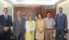 وفد جامعي روسي زار الإدارة المركزية للجامعة اللبنانية
