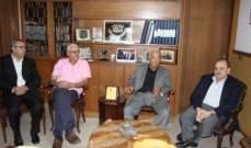 البزري بحث مع وفد من منظمة العمل الشيوعي التطورات في لبنان والمنطقة