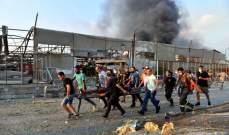 إعتصام لاهالي شهداء مرفأ بيروت من أمام موقع الانفجار وأمام قصر العدل
