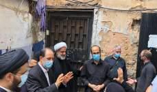مكتب السيد السيستاني في لبنان: استمرار تقديم المساعدات في زقاق البلاط