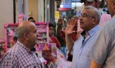 سعد جال بصيدا: نأمل ان يعم الأمن والاستقرار وأن تتحسن الحركة الاقتصادية بالمدينة