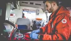 الصليب الاحمر: نقل 4 جرحى إلى المستشفيات وإسعاف 8 مصابين في وسط بيروت
