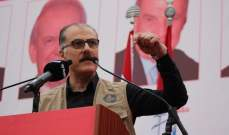 عبد الله: لا نقاش بالنسبة لجنبلاط بموضوع التمثيل الدرزي طالما ان معايير التشكيل طائفية