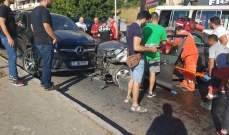 النشرة: جريح بحادث سير في الهلالية شرق مدينة صيدا