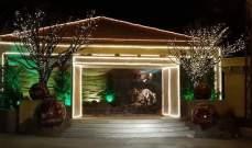 افتتاح بلدية رأس بعلبك لمغارة الميلاد بمباركة المطران رحال
