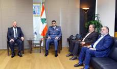 اللواء عثمان استقبل ممثل حركة حماس في لبنان على رأس وفد قيادي