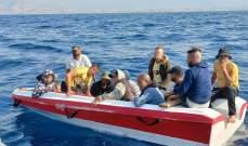 الجيش: توقيف 13 شخصا على متن مركب يُستخدم في عمليات التهريب غير الشرعي