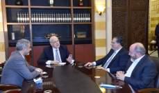 اجتماع ميقاتي والأسمر وشقير بحث تحسين الأجور في القطاع الخاص