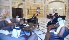 وزير الخارجية القطري التقى دياب وانتقل الى الخارجية للقاء وهبة