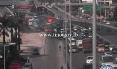 تعطل شاحنة على أوتوستراد أنطلياس- المسلك الغربي وحركة المرور كثيفة