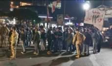 النشرة: قطع شارع رياض الصلح الرئيسي بصيدا تضامناً مع المحتجين في بيروت