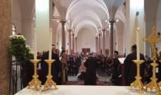 القداس الأول بمار بطرس جبيل بحضور المؤمنين بعد انقطاع قسري دام قرابة الشهرين