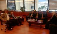 أيوب التقى سفير إندونيسيا وبحث معه التعاون بين الجامعة والسفارة الإندونيسية
