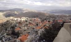 قطع الطريق امام قلعة راشيا لمنع ممثل الرؤساء الثلاثة من الوصول