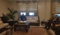 القطان زار السفير السوري: للتنسيق السريع مع الحكومة السورية والتعاون بكافة المجالات