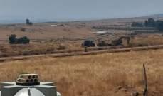 دبابتان اسرائيليتان تجتازان السياج التقني في خلة المحافر