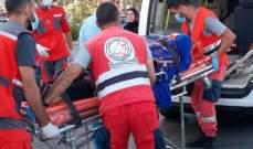 النشرة: جريحة جراء حادث صدم على الاوتوستراد الشرقي لمدينة صيدا