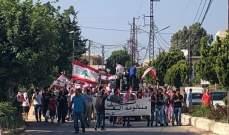 مسيرة سيارة في بعلبك استنكارا للاعتداء على المحامي واصف الحركة