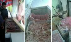 وزارة الصحة تسطر محضر ضبط بحق صاحب محل فراريج غير مطابق للشروط الصحية