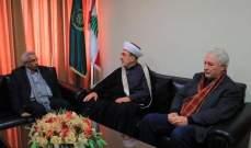 سعد بعد زيارة سوسان: لوضع استراتيجية موحدة لمقاومة الصفقة الاميركية