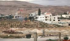 النشرة: الدفاع المدني يعمل على إخماد حريق شب في مجدل عنجر