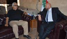الشامي زار نهرا شاكرا تهنئته لتعيينه عضوا في المجلس الدستوري