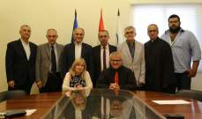 اتفاقية تعاون بين كلية الفنون بجامعة الروح القدس وبلدة خريبة الجرد
