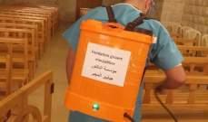 مؤسسة الدكتور جيلبير المجبر الإجتماعية عقمت دير القديسة رفقا في جربتا