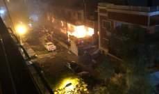 سانا: مقتل نجل القيادي بالجهاد واصابة 11 اخرين بقصف 3 صواريخ اسرائيلية
