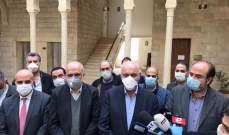 بلدية زحلة تجمع نواب المنطقة وممثلي مستشفيات بجبهة واحدة بمواجهة كورنا