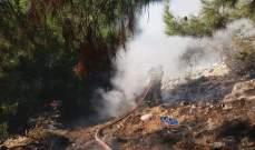 الدفاع المدني يخمد حريقا شب في زغرتغرين ـ الضنية