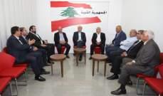 جعجع يعرض مع زواره الأوضاع السياسية في لبنان