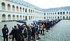 حشد من القادة الأجانب يحضر الجنازة الرسمية لشيراك في باريس