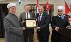السفير السويسري: لبنان أكثر أمانا من أي بلد آخر