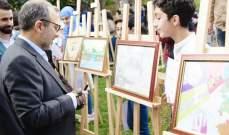 باسيل للطلاب: شبابنا يرون الجميل في لبنان ورسموا الوطن على النحو الذي أرادوه