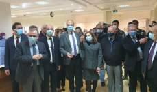 وزير الصحة افتتح مركز التلقيح ضد كورونا مستشفى الطوارئ التركي بصيدا