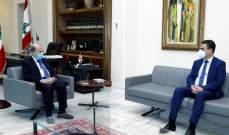 صحناوي زار عون: الرئيس يعمل على تأمين 150 مليار ليرة إضافة لتسهيل عودة المتضررين لمنازلهم